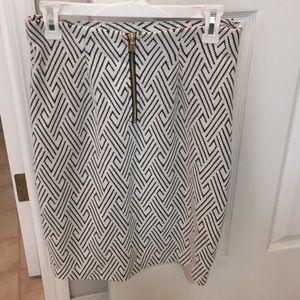 Midi stretch work skirt